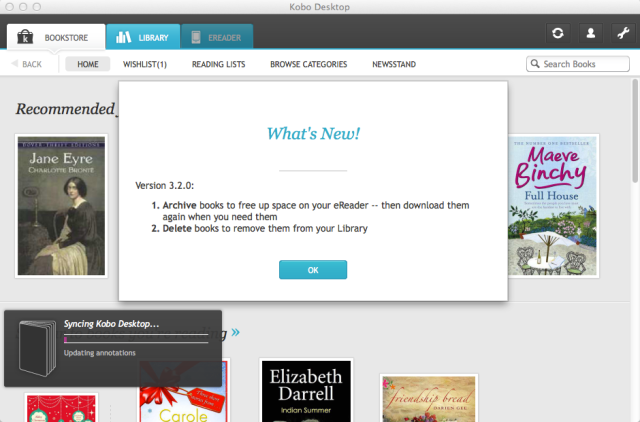 Kobo Screen Shot 2